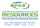 Resources Pest Control & Cleaning Services