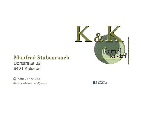 Stubsi Kernöl - Manfred Stubenrauch