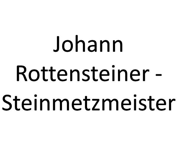 Johann Rottensteiner - Steinmetzmeister