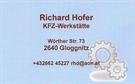 Firma Hofer Richard
