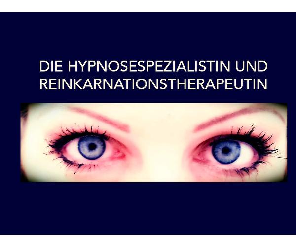 die Hypnosespezialistin und Reinkarnationstherapeutin