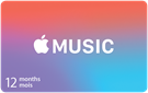 Apple Music 12 Month