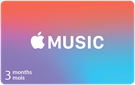 Apple Music 3 Month