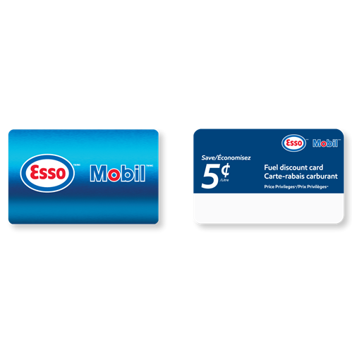 Esso and Mobil Combination Card ($100 gift card + $25 fuel savings card 5 ¢/L)