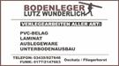 Bodenleger Lutz Wunderlich