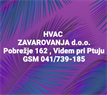 HVAC ZAVAROVANJA