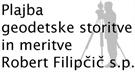 PLAJBA- GEODETSKE STORITVE IN MERITVE ROBERT FILIPČIČ S.P.