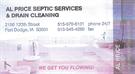 Al Price Septic Services