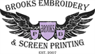 Brooks Embroidery
