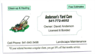 Anderson's Yard Care