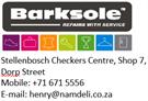 Barksole Stellenbosch